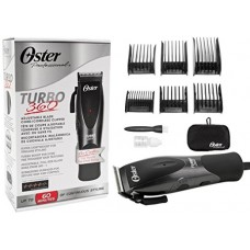 OSTER 76105010 Turbo 360 Adjustable Blade Quiet Versatile Comfortable Cord/Cordless Hair Clipper