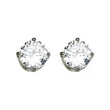 Inverness 5mm CZ PP #181 Earring