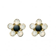 Inverness Flower Martinique Earring 24KT GP #835