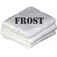 DISPOSABLE CAPE FROSTED 40PK
