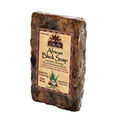 African Black Marble Soap (5.5oz)