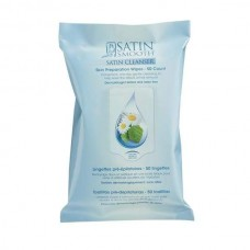 SATIN SMOOTH Satin Cleanser Preparation Wipes 50 Wipes/Pk