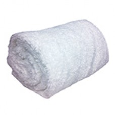 BATH TOWEL WHITE  30X60 EA