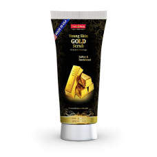 Hollywood style Young Skin Gold Scrub
